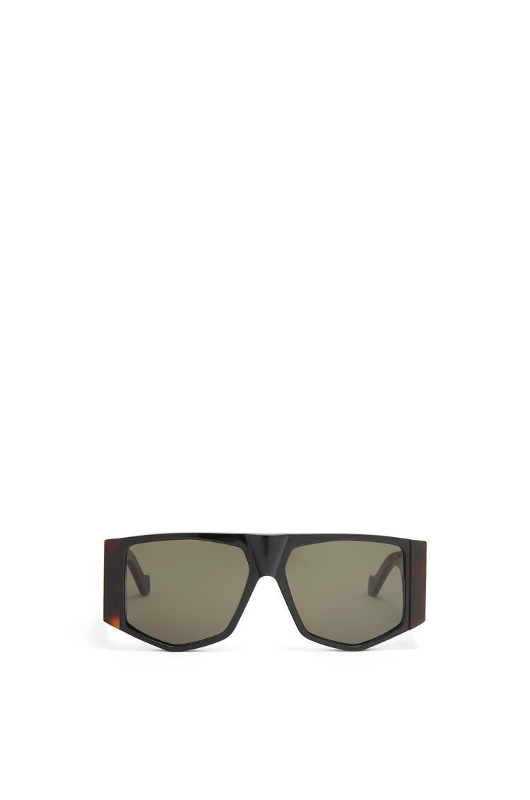LOEWE ACETATE MASK SUNGLASSES Havana/Green pdp_rd