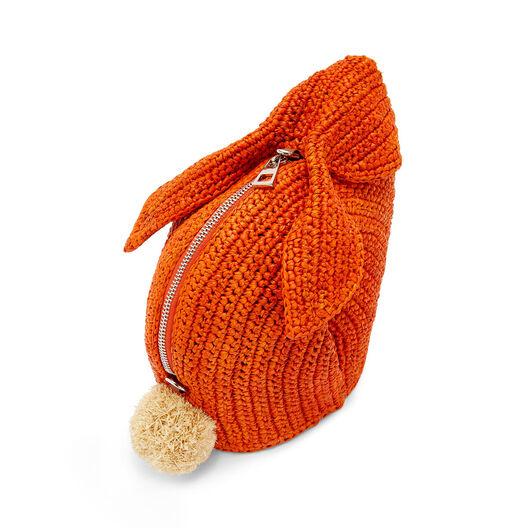 LOEWE Bunny Mini Bag Orange front