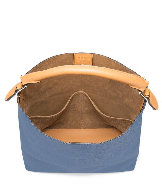 LOEWE Bolso T Bucket Azul Varsity/Ambar all