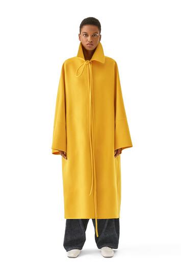 LOEWE Oversize Coat イエロー front