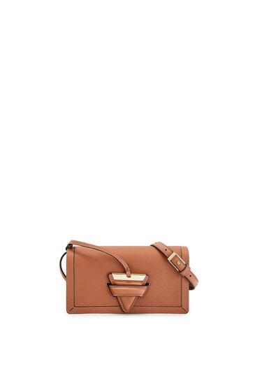 LOEWE Mini Barcelona Soft Bag In Soft Grained Calfskin Tan pdp_rd
