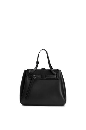 LOEWE Mini Lazo bag in box calfskin Black pdp_rd