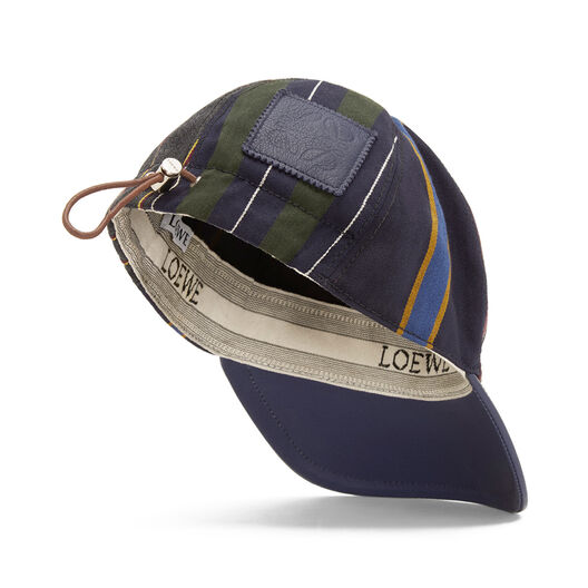 LOEWE Baseball Cap Multicolor/Marine all