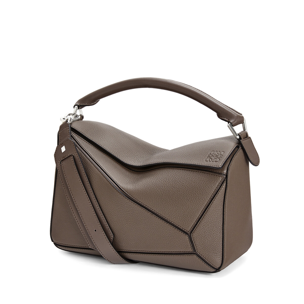 LOEWE Bolso Puzzle Topo Oscuro front