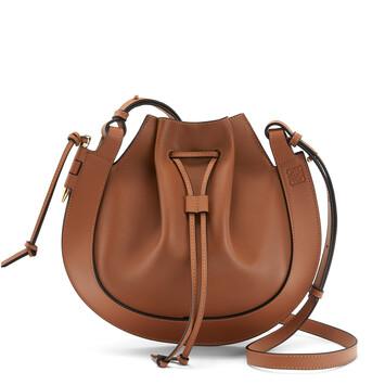 LOEWE Horseshoe Bag Tan front