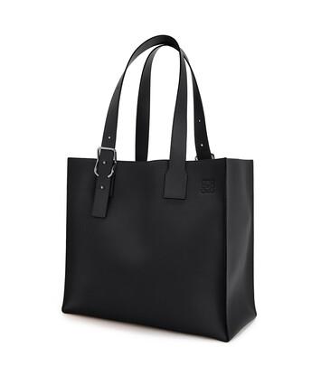 LOEWE Buckle Tote Bag ブラック front