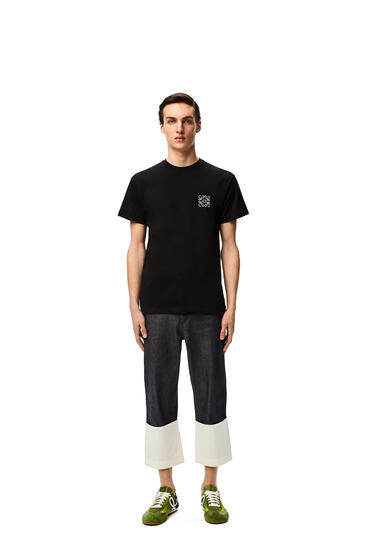 LOEWE Anagram t-shirt in cotton Black pdp_rd
