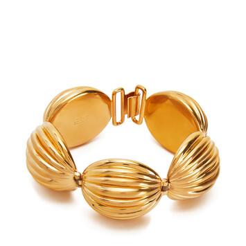 LOEWE Pulsera Nutshell Oro front