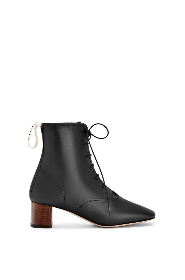 LOEWE Soft boot 50 in lambskin Black pdp_rd