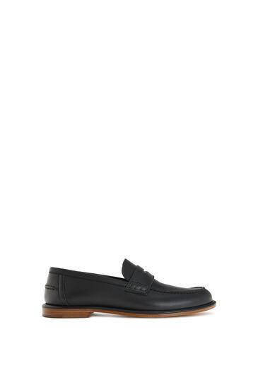 LOEWE Soft Loafer In Calfskin Black pdp_rd