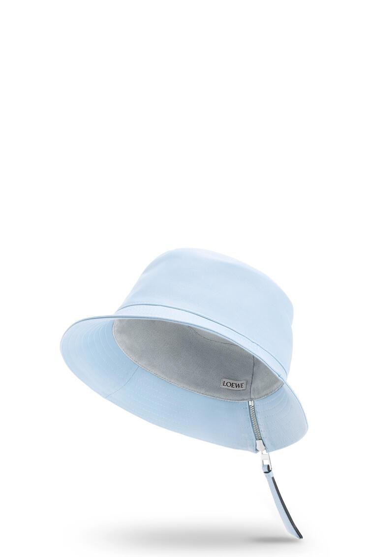 LOEWE Fisherman hat in nappa calfskin Light Blue pdp_rd