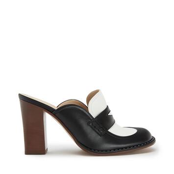 LOEWE Loafer 90 Black/White front