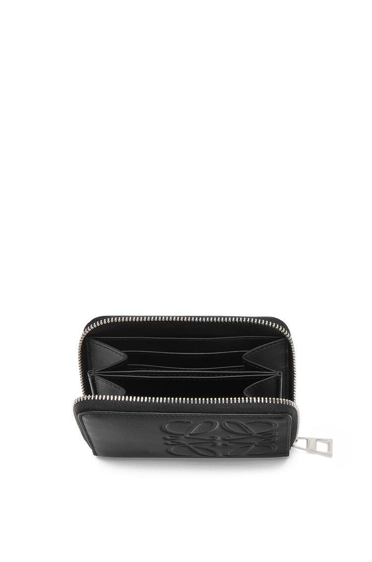 LOEWE 6 Cards Zip Wallet In Smooth Calfskin Black pdp_rd