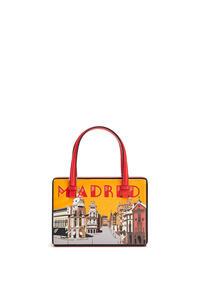 LOEWE Small Madrid Postal bag in natural calfskin Red pdp_rd
