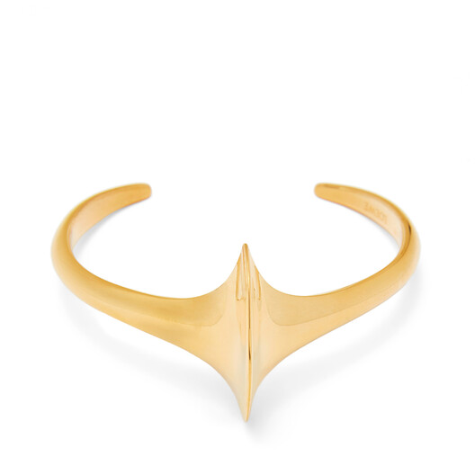 LOEWE Edge Cuff Gold front