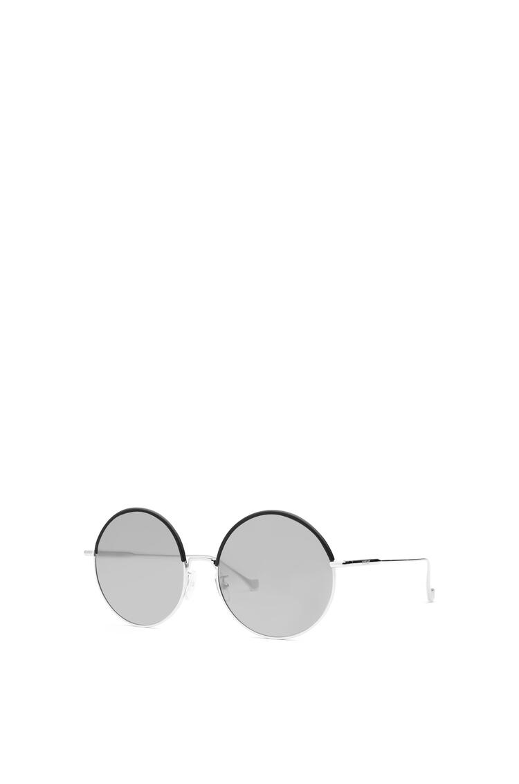 LOEWE Round Sunglasses Black/Gradient Smoke pdp_rd