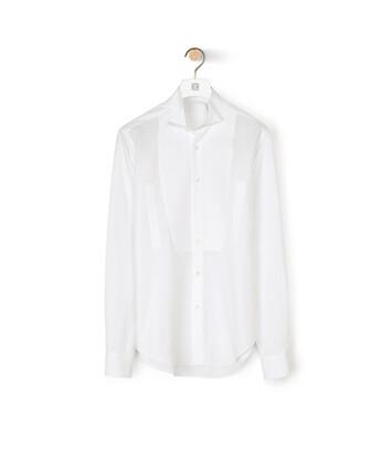 LOEWE Wing Collar Shirt Blanco front