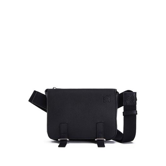 LOEWE Military Bumbag Black front