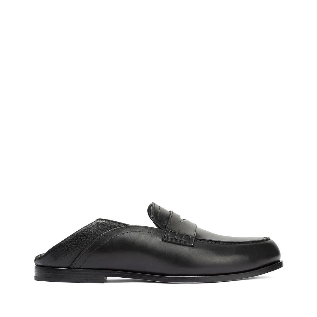 LOEWE Slip On Loafer Black front