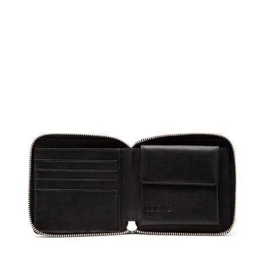 LOEWE Billetero C/C Cuadrado Negro front