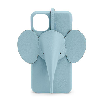 LOEWE Elephant Cover For Iphone 11 Pro Max Light Blue front