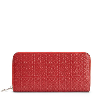 LOEWE Zip Around Wallet Pomodoro front