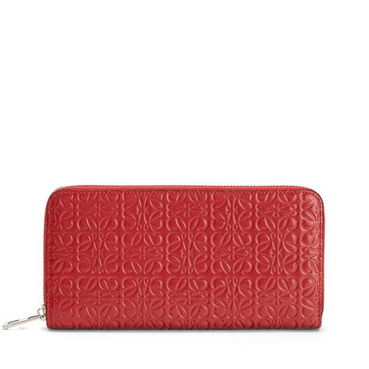 LOEWE Zip Around Wallet Pomodoro front