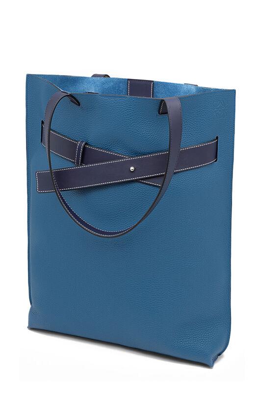 LOEWE Bolso Strap Tote Vertical Azul Duque/Marine Azul all