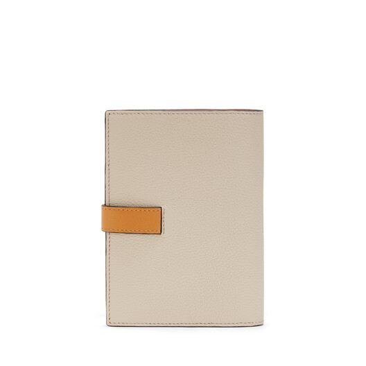LOEWE Medium Vertical Wallet Light Oat/Honey front