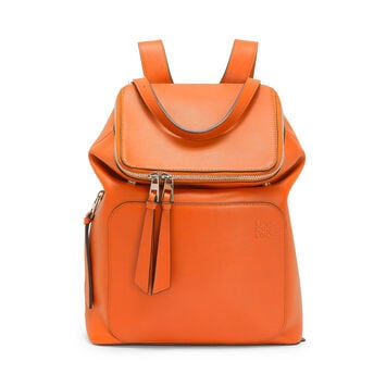 LOEWE Goya Small Backpack Ginger Color front