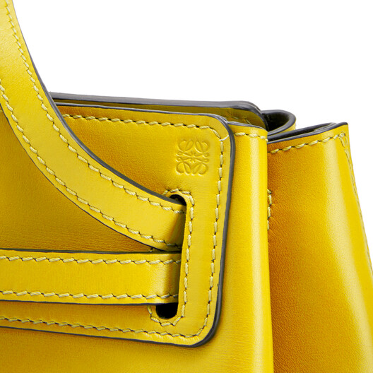 LOEWE Lazo Mini Bag Yellow front