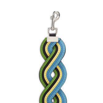 LOEWE Wavy Rainbow Strap Blue/Multicolor front