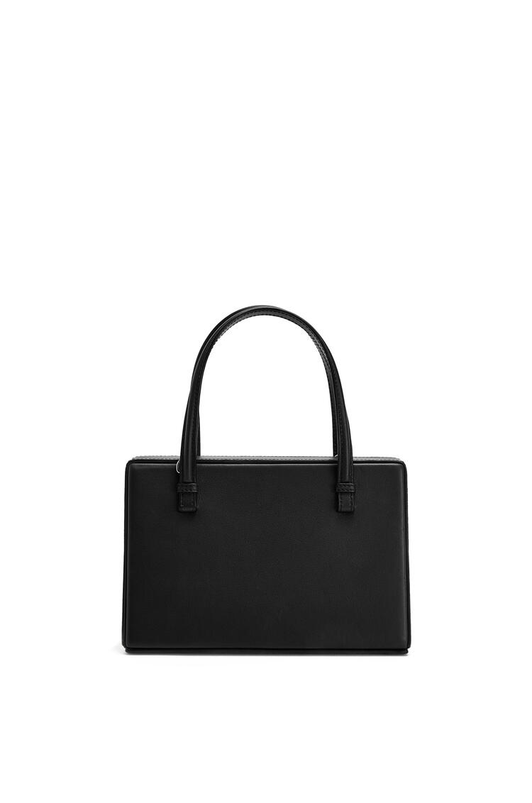 LOEWE Postal bag in natural calfskin Black pdp_rd