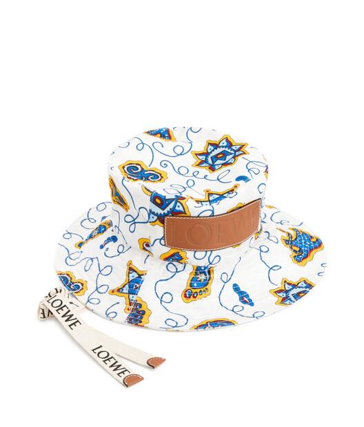 LOEWE Paula Fisherman Hat White front