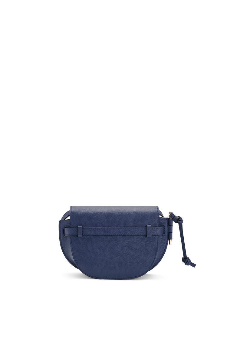 LOEWE Mini Gate dual bag in pebble grain calfskin Ocean pdp_rd