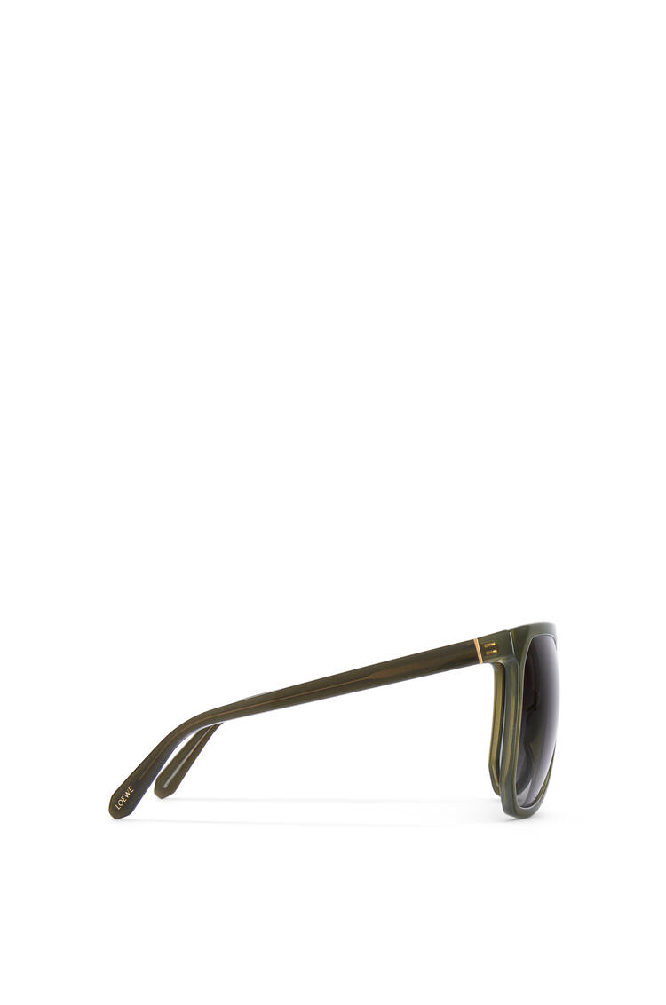 LOEWE Gafas de sol Filipa en acetato Khaki Matizado pdp_rd