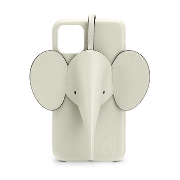 LOEWE Elephant Cover For Iphone 11 Sage front