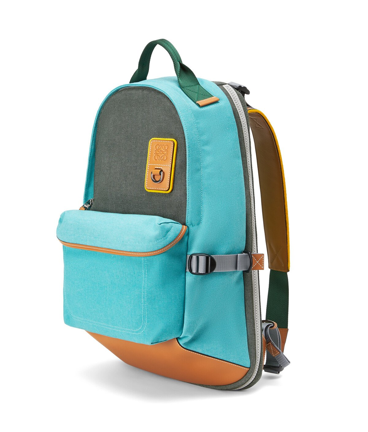 LOEWE Eye/Loewe/Nature Backpack Turquoise front