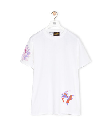 LOEWE T-Shirt In Mermaid Cotton White front