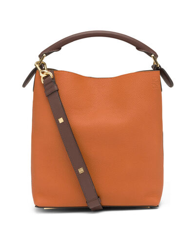 LOEWE T Bucket Small Bag Ginger/Rouge front