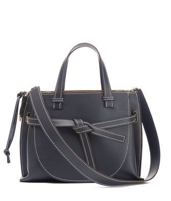 LOEWE Gate Tophandle Bag Midnight Blue front