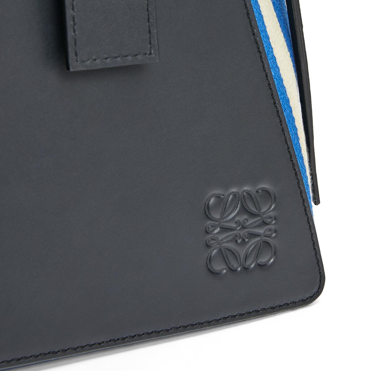 LOEWE Berlingo Stripes Bag white/blue front
