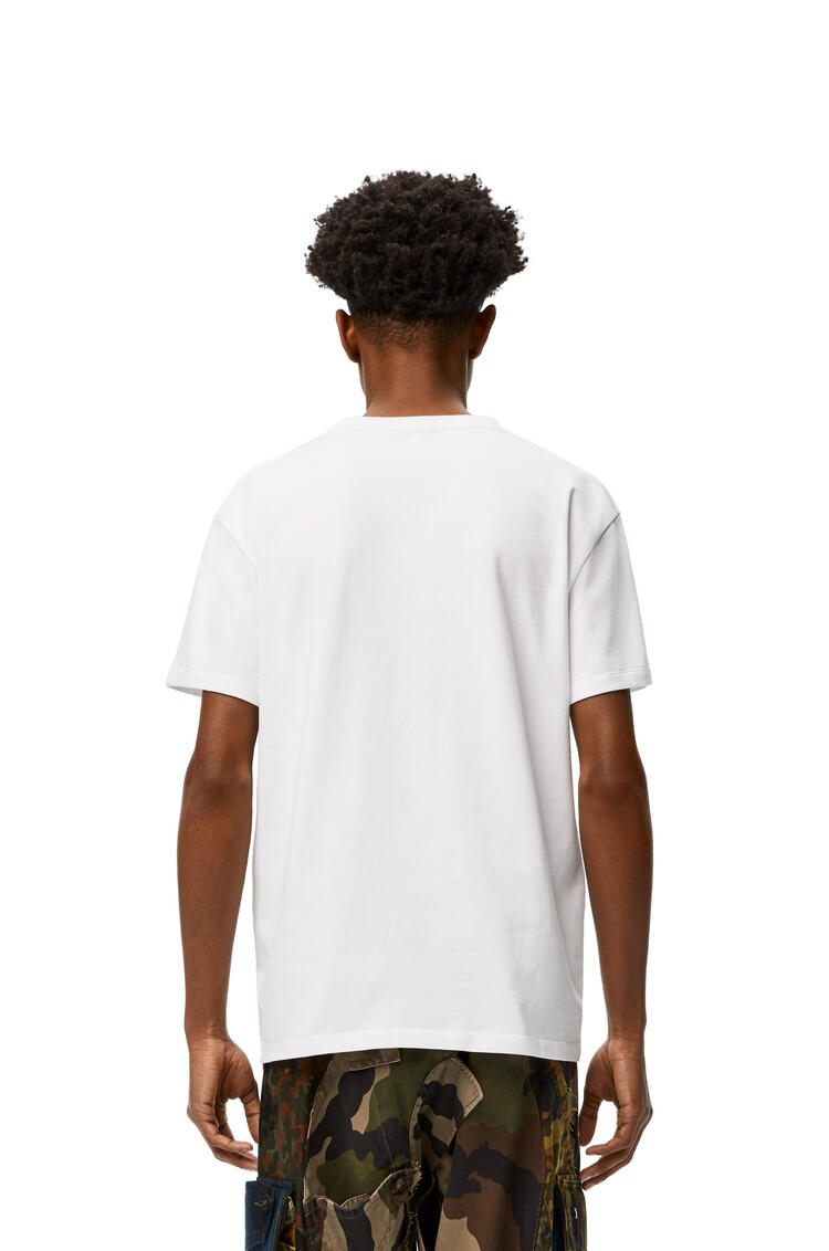 LOEWE Embroidered T-shirt in cotton White pdp_rd