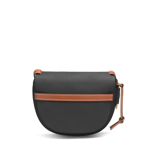 LOEWE Bolso Gate Pequeño Negro/Color Pecana all