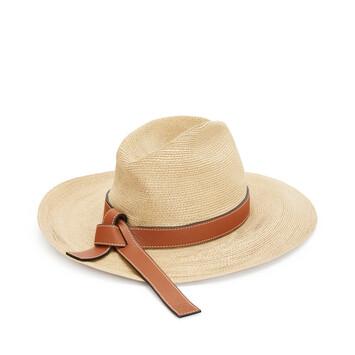 LOEWE Panama Hat Natural/Tan front