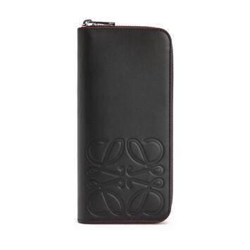 LOEWE Brand Open Wallet Black front