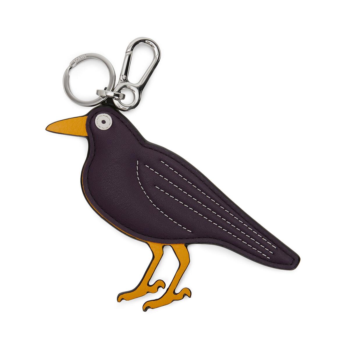 LOEWE Blackbird Charm Violet/Yellow Mango front