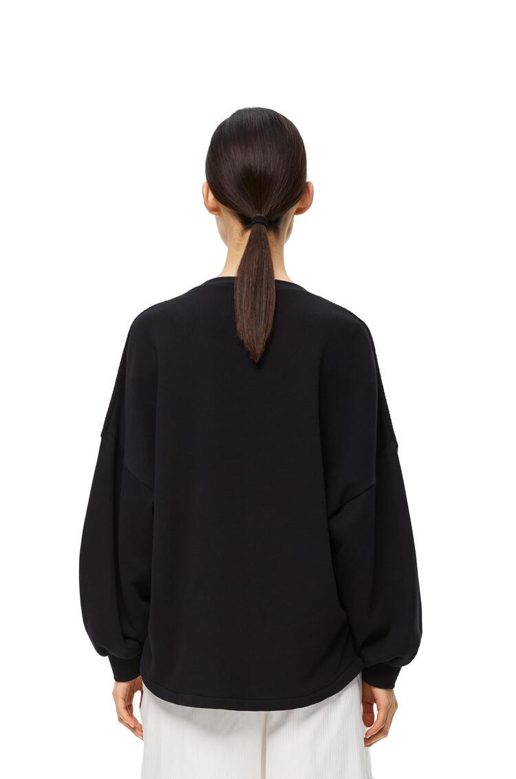 LOEWE エンブロイダリー スウェットシャツ(コットン) ブラック pdp_rd