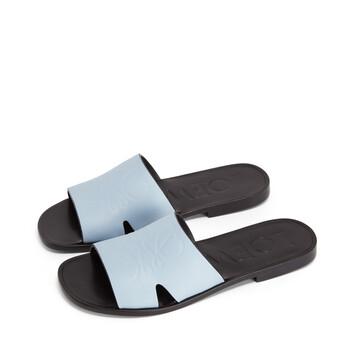 LOEWE Anagram Mule Baby Blue front