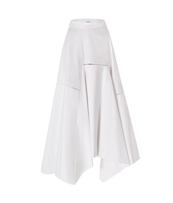 LOEWE Balloon Skirt White front